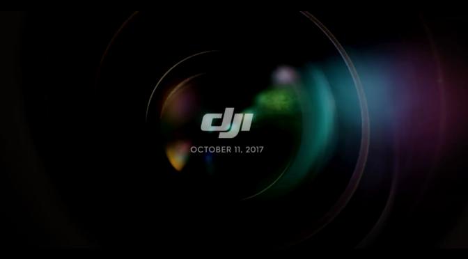 New Teaser from DJI for 11 October