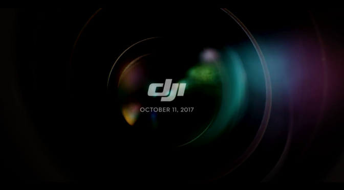 New Teaser from DJI for 11 October